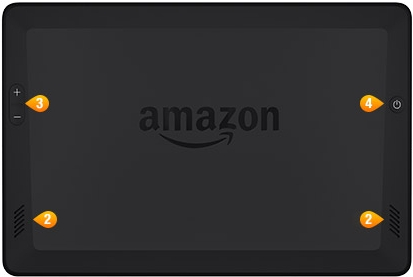"Amazon Kindle Fire HDX 7"" 4G"