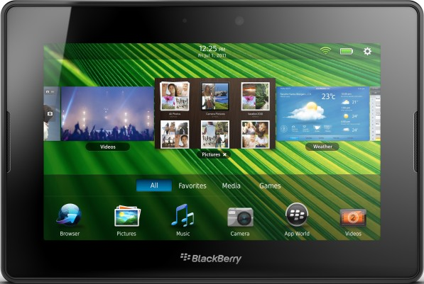 BlackBerry 4G PlayBook Wi-Fi + WiMax
