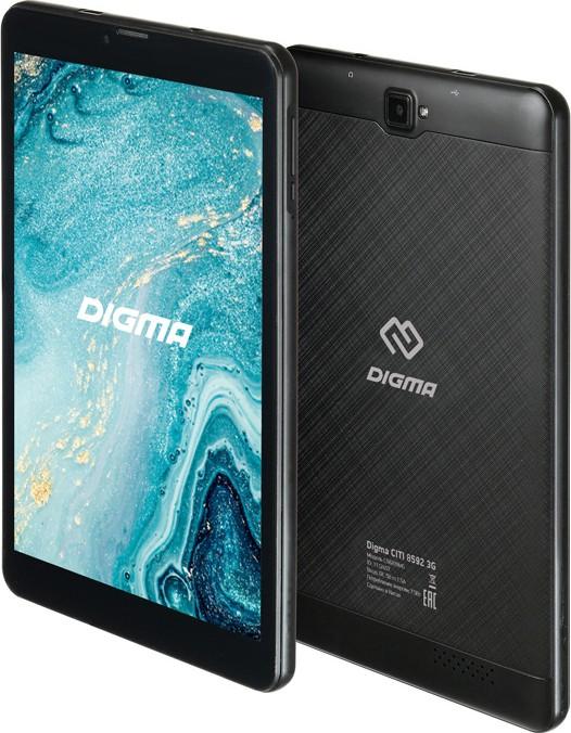 Digma CITI 8592 3G - Планшет (планшетный компьютер) - Обзоры, описания, тесты, отзывы - Helpix