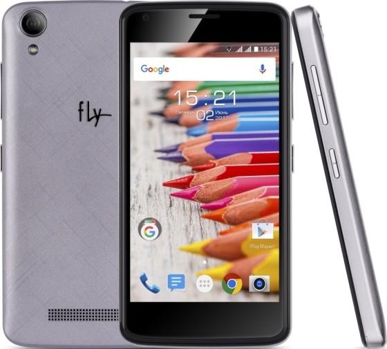 Fly Nimbus 15: смартфон с андроид 7.0 Nougat за4290 руб.