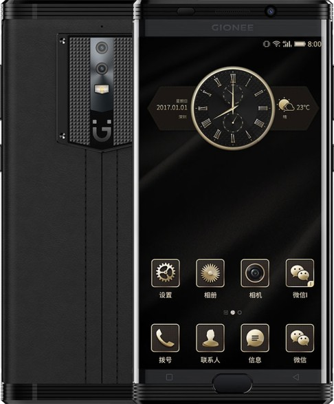 Gionee представила выносливый смартфон M2017