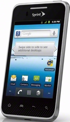 LG Optimus Elite CDMA
