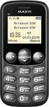 телефон Maxvi B1 инструкция - фото 2