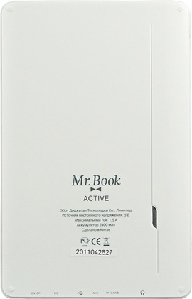 Mr.Book Active