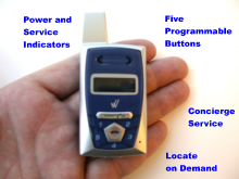 Wherify GPS Locator Phone
