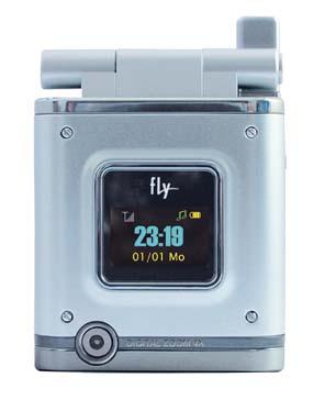 новую модель компактного мобильного телефона Fly Z400