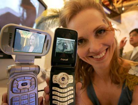 Samsung представляет первый CDMA-телефон с мобильным телевидением стандарта