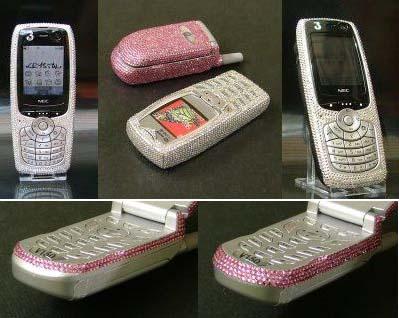Укрась мобильный телефон