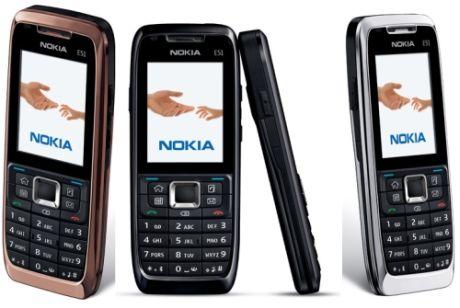 Nokia E51 представлена официально