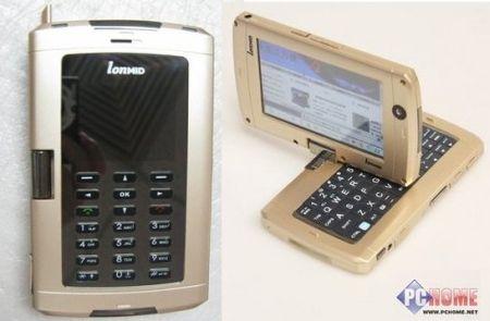 Новости.  Мобильное интернет-устройство LonMID M100 на базе Intel Atom.