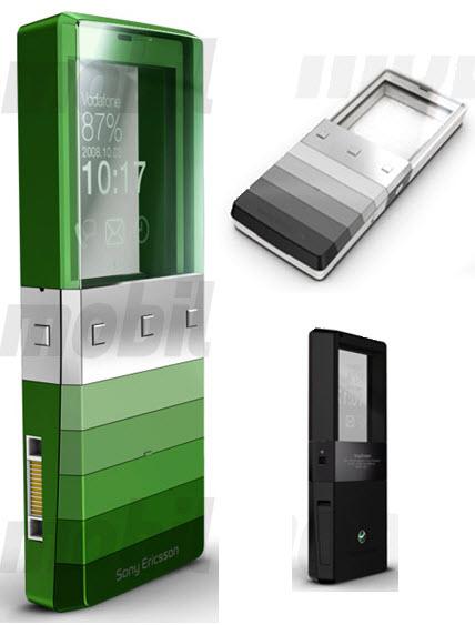 Sony Ericsson Kiki con pantalla transparente