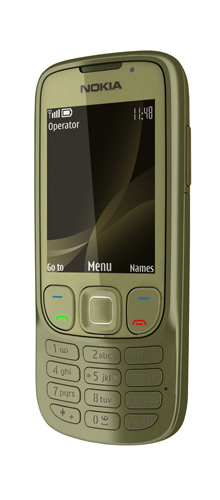 Nokia 6303i Classic Khaki Gold EU.