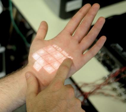 """Технология получила название  """"Skinput """".  Исследователями компании Microsoft и учеными из Университета..."""