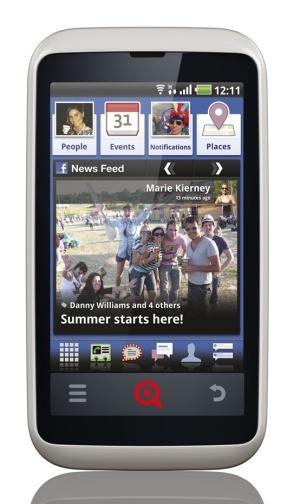 Facebook-смартфоны: INQ Cloud Touch и Cloud Q