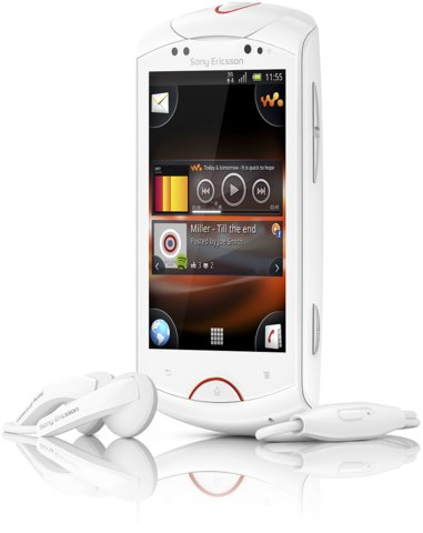 Компания Sony Ericsson анонсировала музыкальный смартфон с длинным и