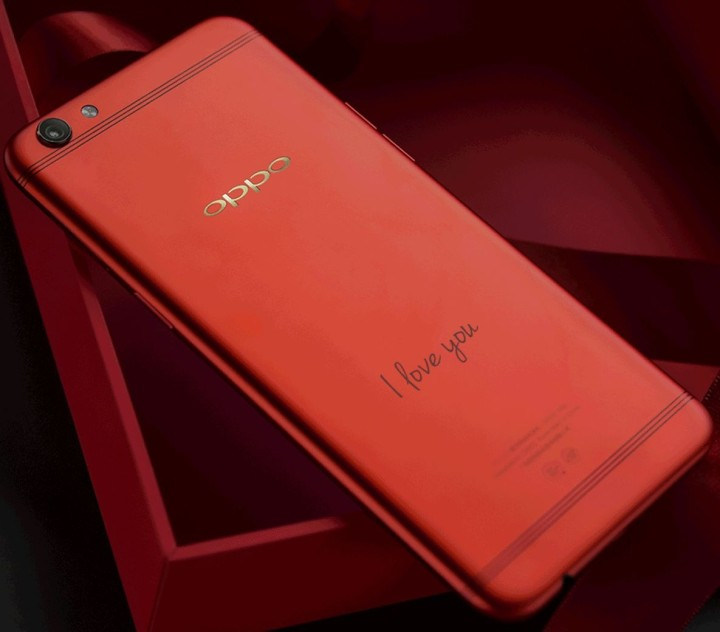 Смартфон OPPO R9s Valentine Red Edition
