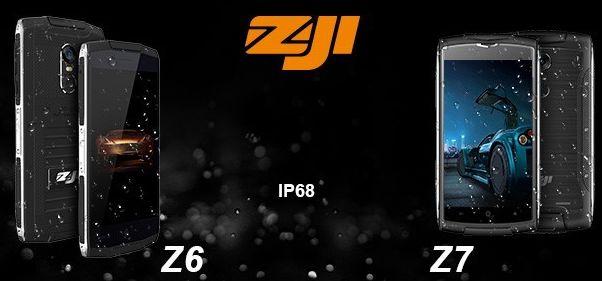 Смартфоны ZOJI Z6 и Z7