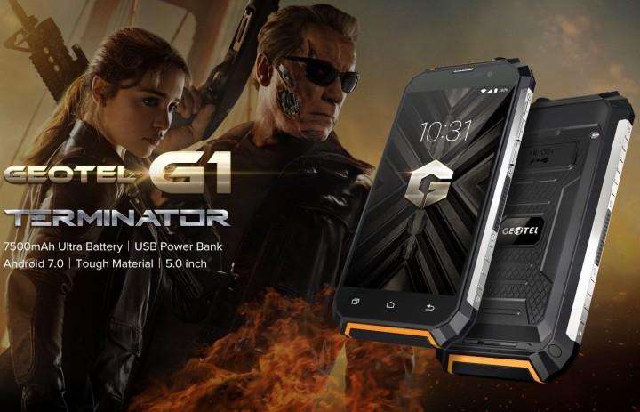 Смартфон Geotel G1 Terminator
