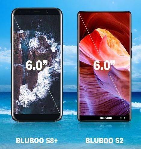 Bluboo S8+ и Bluboo S2: еще больше экрана