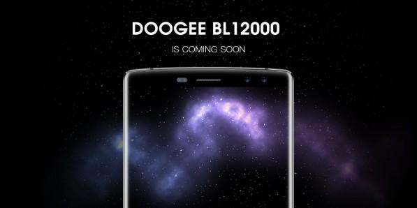 Doogee представит BL12000 - смартфон-пауербанк с батареей 12000 мАч