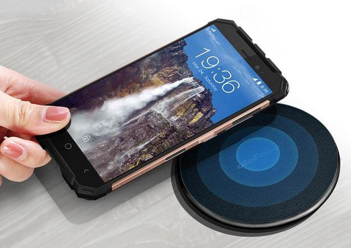Ударопрочный смартфон Ulefone Armor Xполучил беспроводную зарядку