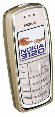 Мобильный телефон Nokia 3120.