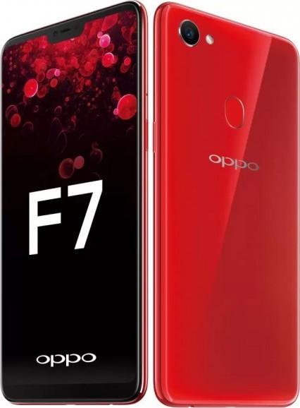 OPPO F7 искуственный интелект с 25 мегапикселей селфи-камера
