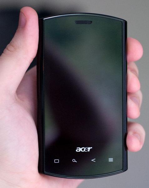 Android / Смартфон Acer Liquid E: четыре недели вместе