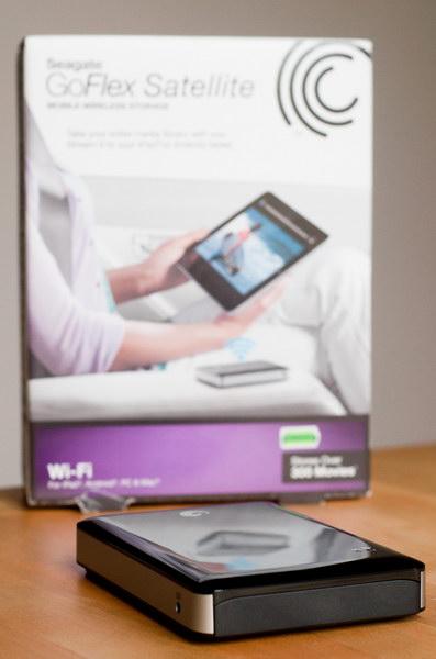 Seagate GoFlex Satellite: беспроводной винчестер для iPad и не только
