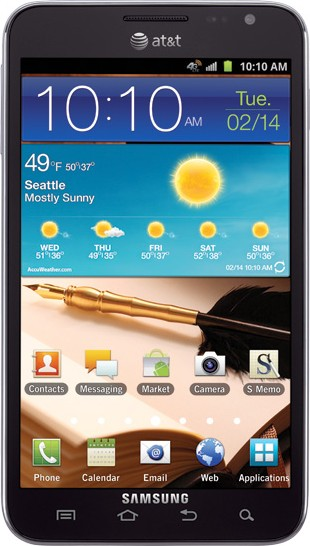 Samsung I717 Galaxy Note LTE