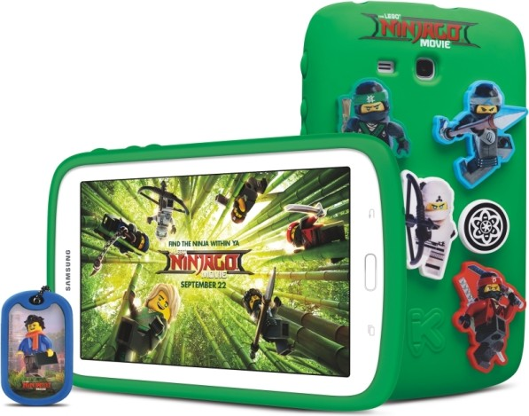 Планшет Samsung Kids Galaxy Tablet 7.0 LEGO NINJAGO MOVIE Edition