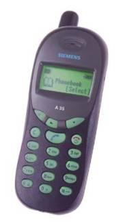Siemens A35 - Обзоры, описания, тесты, отзывы - Мобильные телефоны ...