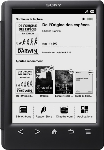 Sony Reader PRS-T3