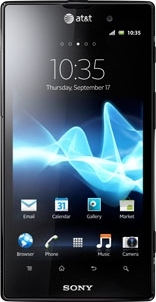 Sony Xperia ion LTE LT28at (AT&T)