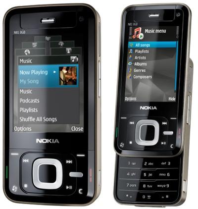 Nokia N81: любимец бабушек и внуков - Helpix