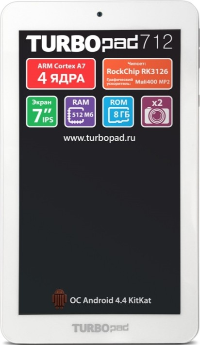 TurboPad 712 new